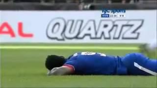 Rompió en llanto porque se perdió el gol del empate