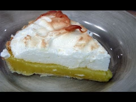 How to Make Lemon Meringue Pie Recipe by Laura Vitale Laura in the Kitchen Ep 121