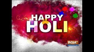 International Wali Holi: Foreigners enjoy playing Holi in Rishikesh - INDIATV
