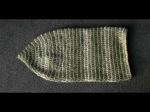 How to Crochet A Basic Baby Cocoon Part 1 of 2