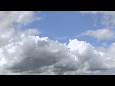 Green Screen Background moving Clouds 1 - free green screen