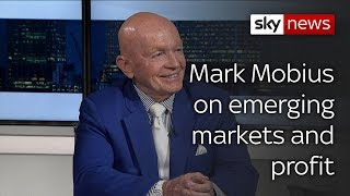 Mark Mobius: 'growing awareness of profitability of emerging markets' - SKYNEWS