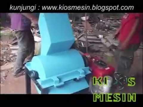 mesin penggiling, pencacah, penghancur, plastik, sabut, sampah, kompos, limbah organik, kertas