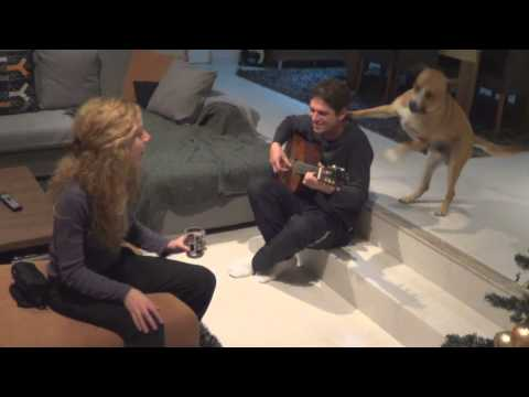 Adele (vs Dog) - Someone like you cover