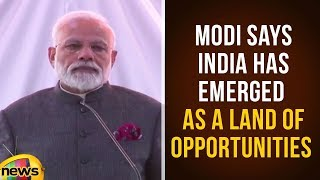 PM Narendra Modi Says India Has Emerged As A Land Of Opportunities | Modi Latest News | Mango News - MANGONEWS