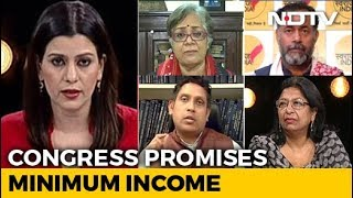 Rahul Gandhi's Minimum Income Promise: Gamechanger Or Non-Starter? - NDTV
