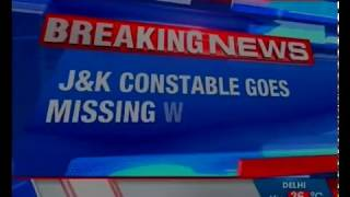 J&K constable goes missing withservice rifle from Police Post Pakherpora - NEWSXLIVE