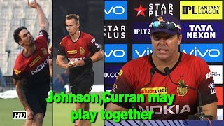 Kolkata's Mitchell Johnson, Tom Curran may play together: Heath Streak - IANSINDIA