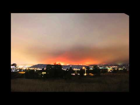 Waldo Canyon Fire Time Lapse - June 26th