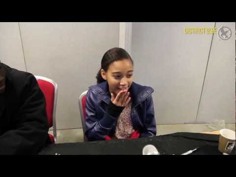 Amandla Stenberg (Rue) - Collectormania 18 Interview by District12.be