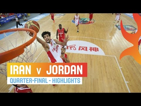 Iran v Jordan - Highlights Quarter-Final - 2014 FIBA Asia Cup