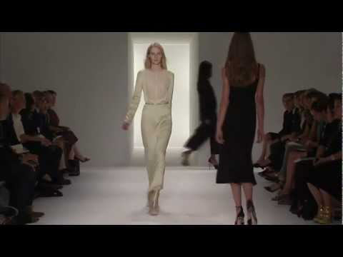 Calvin Klein Collection Women's Spring 2012 Runway Show