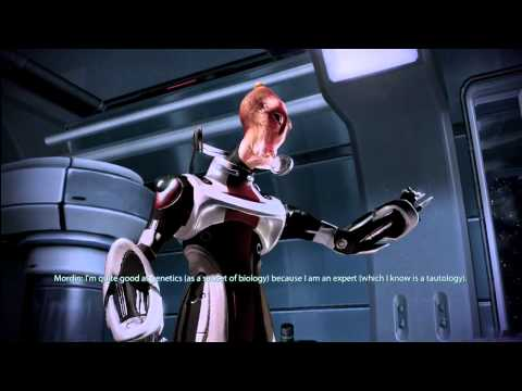 Mass Effect: 2 - Mordin Singing! -CeT5mbJhtI8