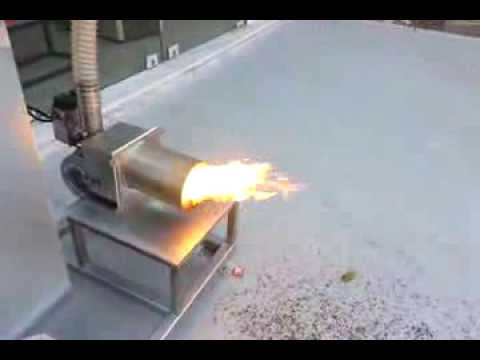 Καυστήρας πολυκαυσίμου Natural Fire Y-30 με pellet από ξύλο