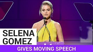 Selena Gomez Give Emotional Speech At Lupus Gala - HOLLYWIRETV