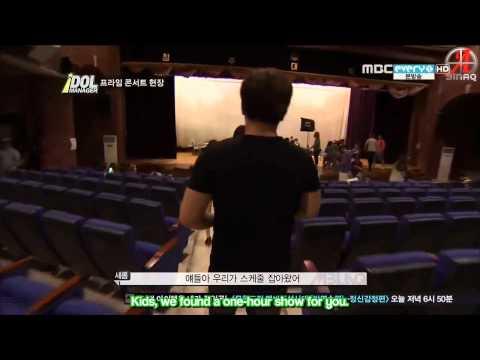 {SINAQ} 120831 MBLAQ Idol Manager Ep 3 (3/3)
