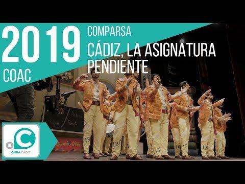 La agrupación Cádiz, la asignatura pendiente llega al COAC 2019 en la modalidad de Comparsas. Primera actuación de la agrupación para esta modalidad.