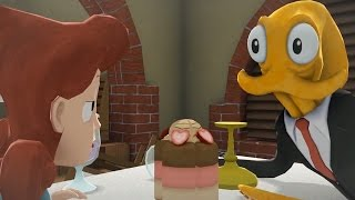 watch the youtube video Octodad - Dadliest Catch DLC Shorts - Wiggly Waiter [2]