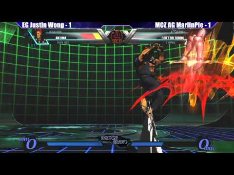 UMVC3 Losers Finals EG Justin Wong vs MCZ AG MarlinPie - WB6 Road to Evo 2012