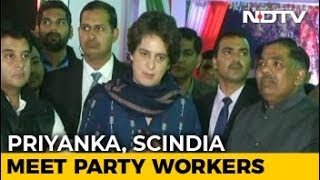 For Priyanka Gandhi's Second 15-Hour Workday, Workers Get Food From Home - NDTV