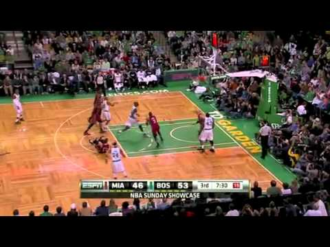 Boston Celtics - Miami Heat 85:82 Highlights 2/13/2011