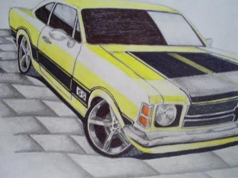 desenhos de carros thalles 2 edição (drawing car)