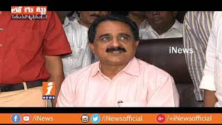 TK Vishweshwar Reddy Vs Aditya Sesha Reddy In Graduate MLC Elections | Loguttu | iNews - INEWS