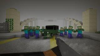 ХОДЯЧИЕ МЕРТВЕЦЫ в Minecraft