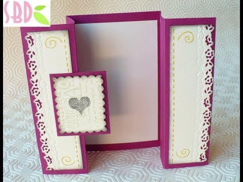 Scrapbooking Tutorial: Biglietto Only Love - Only Love Card
