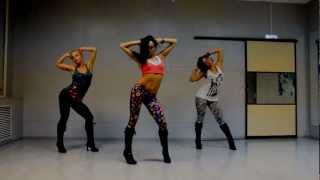 Lesson for beginner Go-Go Dance -High Heels (Kat Graham) choreo Katya Flash