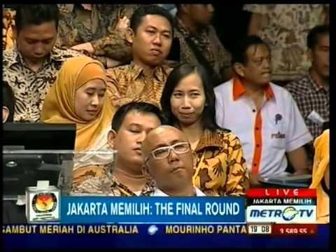 Debat Cagub DKI 2012 Metro TV Part 1