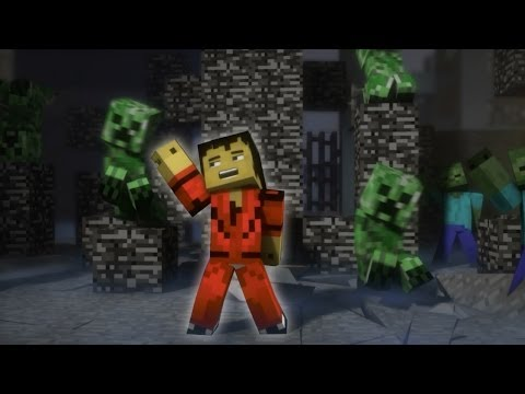 ♫ Creeper A Minecraft Parody of Michael Jacksons Thriller Music Video