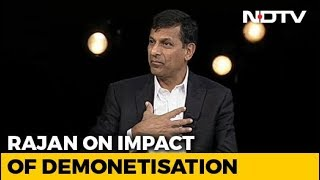 Demonetisation Was A Bad Idea: Raghuram Rajan To NDTV - NDTV