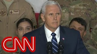 Pence: No immigration negotiations until shutdown ends - CNN