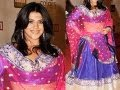 The Dirty Picture producer Ekta Kapoor's BRIDAL look