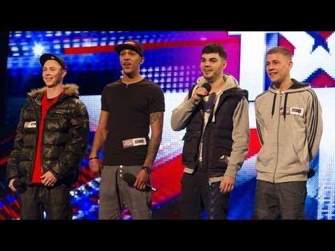 The Mend -- Britain's Got Talent 2012 audition -- International version