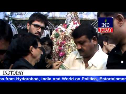 Moharram 2014 | Congress TDP leaders visit Bibi Ka Alawa Hyderabad