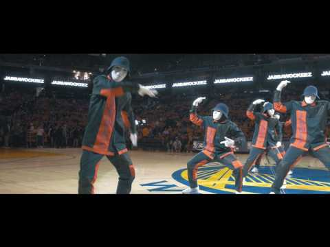 JABBAWOCKEEZ at the NBA Finals 2017