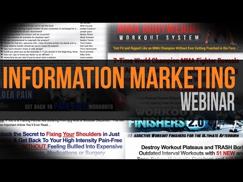 Information Marketing Webinar