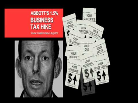 Tony Abbott's tax hike.