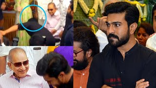 Ram Charan Love & Respect Towards Super Star Krishna - TFPC