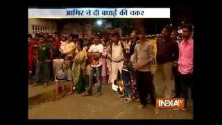 Watch Big B Amitabh Bachchan's Diwali celebration - INDIATV