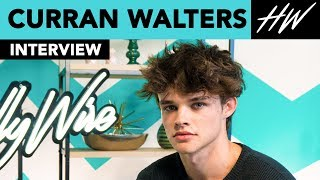 Titans' Curran Walters Reveals His Celebrity Crush & Inspiration, Leonardo DiCaprio!! | Hollywire - HOLLYWIRETV