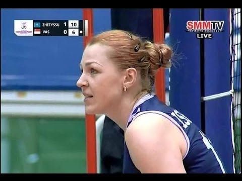 Zhetyssu(KAZ) - VAS(SIN) Asian Women's Club Volleyball Championship 2014