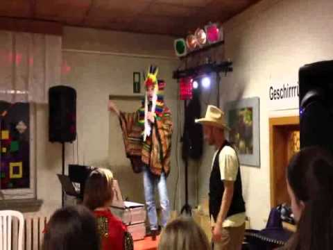 Cowboy & Indianer Kinderfasching