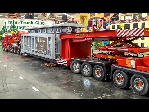 RC EXTREME! Heavy load RC Truck, incredible long!