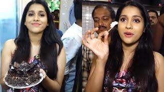 Actress Rashmi Gautam Launches Brand New Kelvin Scale Ice Cream Parlour At Vizag | TFPC - TFPC