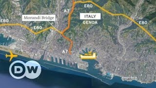 Italy bridge collapse: What does loss of bridge mean for Genoa? | DW English - DEUTSCHEWELLEENGLISH