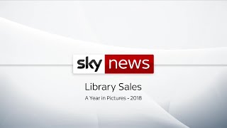 Sky News Library Sales - A Year In Pictures 2018 - SKYNEWS