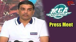 Dil Raju Press meet About MCA (Middle Class Abbayi) Movie | Nani, Sai Pallavi - TELUGUONE